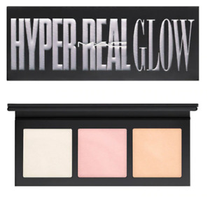MAC Hyper Real Glow Highlighter Palette~GET LIT~3 Shades-BNIB- GLOBAL SHIP!