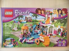Lego Friends 41313 Heartlake Summer Pool New Sealed Andrea Martina fish icecream