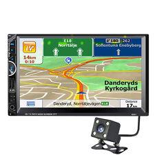 "7"" 2 DIN Bluetooth Car Stereo Audio MP3 Player FM Radio USB + Southeast Asia Map"
