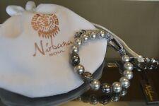 Danish Nirbana Soul Tamori Swarovski Shamballa Pearl bracelet NEW RRP £45