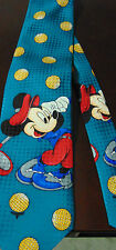 Mickey Mouse Disney Golf  Italian Silk tie