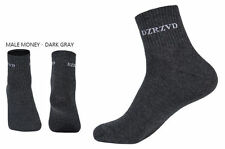 NEUF avec étiquettes Unisexe Coton Chaussettes Running Casual Athletic Sports Chaussettes Gris