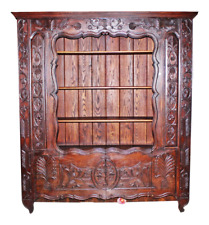 Antique Bookcase, Country French 19th c. Biblioteque