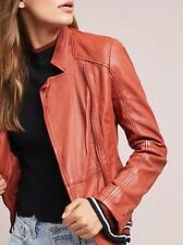 Muubaa moto Leather Jacket US 10, UK 14
