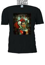 Stephen King IT Pennywise The Dancing Clown Bob Gray Men Women Unisex Tshirt 683