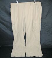 THE NORTH FACE Men's Size 40 Nylon Hiking Pants Khaki/Beige Short Court 29""