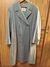 Men's vintage Champion Trench coat 1940's 100%wool Grey