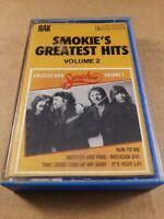 Smokie's Greatest Hits Volume 2 : Vintage Tape Cassette Album From 1980