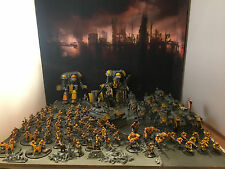 Warhammer 40k Imperial Guard Astra Militarum Army PAINTED! TONS of DETAIL!!!