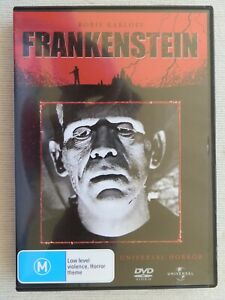 DVD - Frankenstein - Boris Karloff - Universal Horror With Collectors Booklet