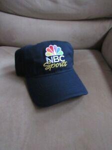 NBC Sports Hat Cap Ballcap Basketball Football NFL TV Peacock Logo Network NEW