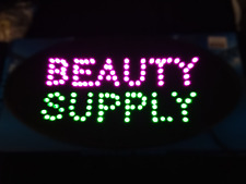 Beauty supply LED Neon Sign,business sign,shop sign,store sign,window sign