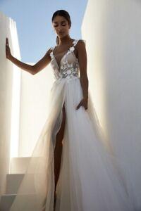 Wedding Dress Couture, Zavanna, Berta, Raffaele Ciuca, size 10, size 8, lace