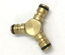 C.K Tools Brass Watering Systems Triple Male Connector G7907Y