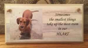 PERSONALISED PLAQUE, SIGN. PHOTO & QUOTE. Dog, Pet, Animal Lover Gift