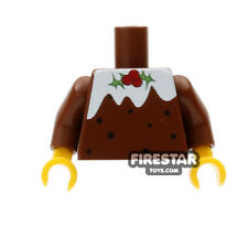 LEGO Minifigure Custom Printed Torso - Happy Christmas Pudding Jumper