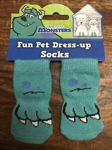 4Pc/Set Pet Dog Knitted Socks Non-slip Knit  Warm Bottom Non Slip Socks