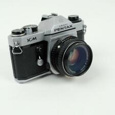 Asahi Pentax KM 35mm Film SLR Camera w/ 50mm f/2.0 Lens Film Tested & Working