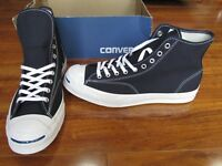 NEW Converse Jack Purcell Signature HI Shoes MENS 11.5 Inked Canvas 153592C $120