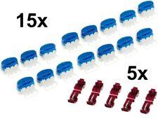 15 connettori per cavi + 5 terminali per Worx Landroid WR101-WR113 | Scatola ric