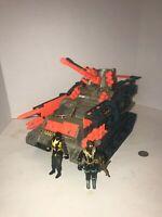 Vintage 1990 Hasbro GI Joe Brawler Tank With Two Figures