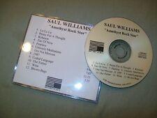 Saul Williams             PROMO CD          Amethyst Rock Star