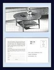 VIRGINIA ALTAVISTA THE LANE COMPANY FURNITURE FORMICA LAMINATED TABLE CIRCA 1957
