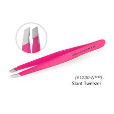 Tweezerman 1230-NPP Professional Stainless Steel Award Winning Slant - Pink