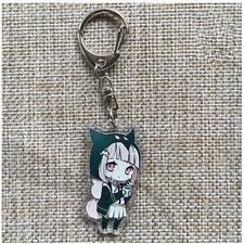Danganronpa V3 Komaeda Nagito Cute Keychain Pendant  Key Chain Keyring Charms