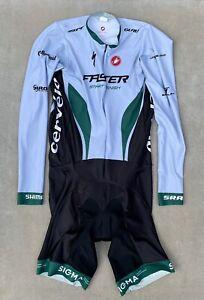 Castelli Cycling Speedsuit Long Sleeve Skinsuit ~ Progetto X2 ~ Size XL
