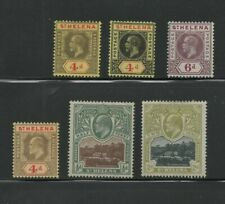 Stamps St. Helena lot of stamps  unused  hinge