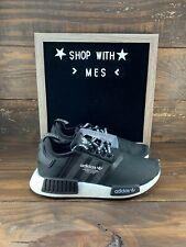 *NEW* KIDS ADIDAS ORIGINALS NMD_R1 J Core Black Kids Shoes (EG9362)- NEW