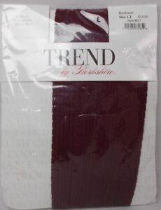 Berkshire Trend Cable Pantyhose Bordeaux Size 1-2