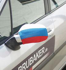 2er Set Spiegelflagge Russland Fahne für Außenspiegel PKW Car Bikini EM WM