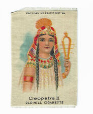 """New listing Silk Cigarette picture """"Cleopatra Ii"""" Egyptian Princess Old Mill Cigarette"""