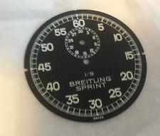 Genuine Breitling Sprint cronometro quadrante nero 1/5th 44.8mm