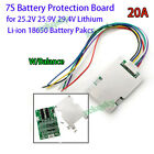3S/4S/5S/6S/7S BMS Protection Board W/ Balance for Li-ion Lithium Battery