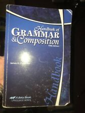Abeka Handbook of grammar and composition Fifth Edition Student Book A Beka