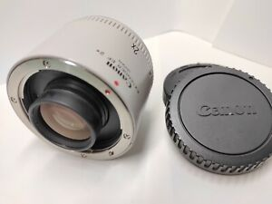 Canon EXTENDER EF 2X Type Teleconverter w/ Caps [Excellent++] from JAPAN