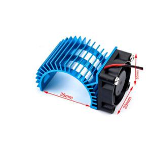 Motor Heat Sink 540 550 3650 + Cooling Fan 1/10 RC Car Electric Toy UK SHIPPING