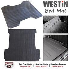 "50-6155 Westin Rubber Truck Bed Mat Liner Silverado / Sierra 5'8"" Bed 2007-2018"