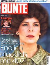 Zeitschrift BUNTE Nr. 3 v 1997, Cover Caroline v. Monaco; Fergie; Schreinemakers