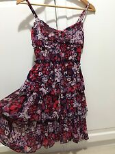 ✨ Christmas BNWT NEW Alannah Hill Cha Cha Skirt Dress Flowy Flirty Purple Pink 8