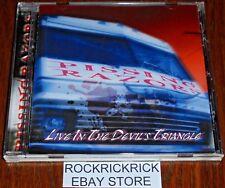 PISSING RAZORS - LIVE IN THE DEVIL'S TRIANGLE -16 TRACK CD-  (BRAND NEW)