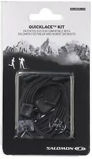 Salomon Shoes/Nordic Quicklace Shoelace Replacement Kit Black One Size L32667200