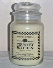 Christmas Cookie 22 Oz Large Jar Yankee Candle Country Kitchen New