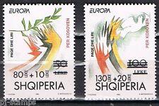 Albanië 2001 2784-2785 Kosovo hulp op Europa CEPT 1995