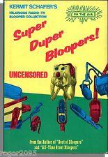 Kermit Schafer's Super Duper Bloopers! (1975) - Uncensored Humor Book!