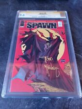 SPAWN #230 CGC 9.6🔥Signed by Todd McFarlane🔥Batman #423 Cover Homage🔥L👀K🔥