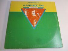 Vinyl Record Album White Boy Blues Clapton Beck Page  1984  British Jam Sessions